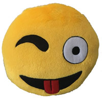 Deliver Gifts to India - Send Smiley Pillow Gifts