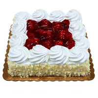 Same Day Cake to India - Strawberry Cake