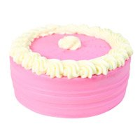 Strawberry Online Cake in India From 5 Star Bakery with Rakhi