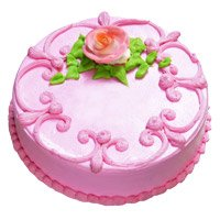 Eggless Cakes in India - Strawberry Cake