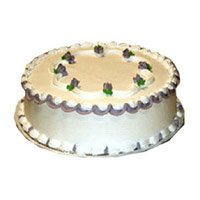 Cake Delivery in India - 1 Kg Vanilla Cake
