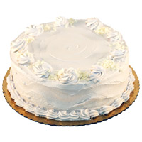 Home Delivery of Cakes to India - Vanilla Cake From 5 Star
