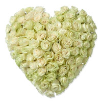 Send 100 Roses Heart to India