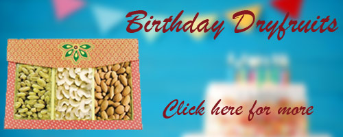 Birthday Dryfruits to Gurgaon