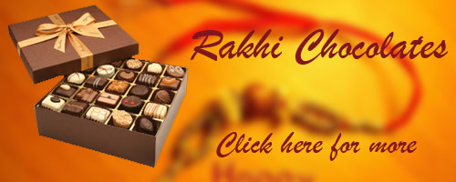 Rakhi Chocolates to Meerut