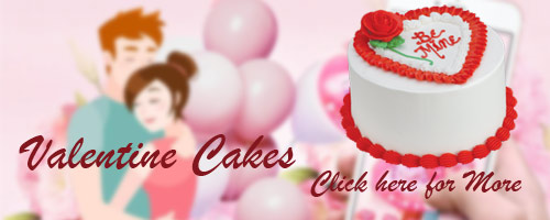 Valentine's Day Cakes to Hyderabad