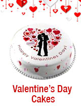 Cakes to India : Valentines Day Cakes to India
