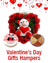 Send Valentine Gifts to India : Send Valentines day Gift Hampers to All over India