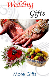 Wedding Gifts to India, Flowers to Vadodara